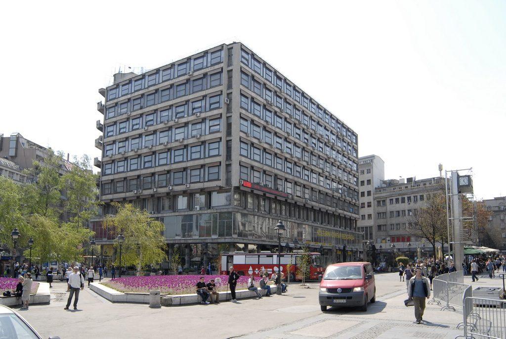 fasada sa trga Republike