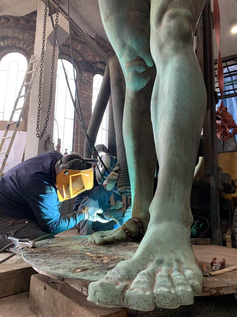 Radovi na skulpturi 3