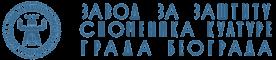 zavod logo text plavi