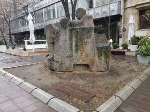 Spomenik Moši Pijade utvrđen je za spomenik kulture 1987. godine.
